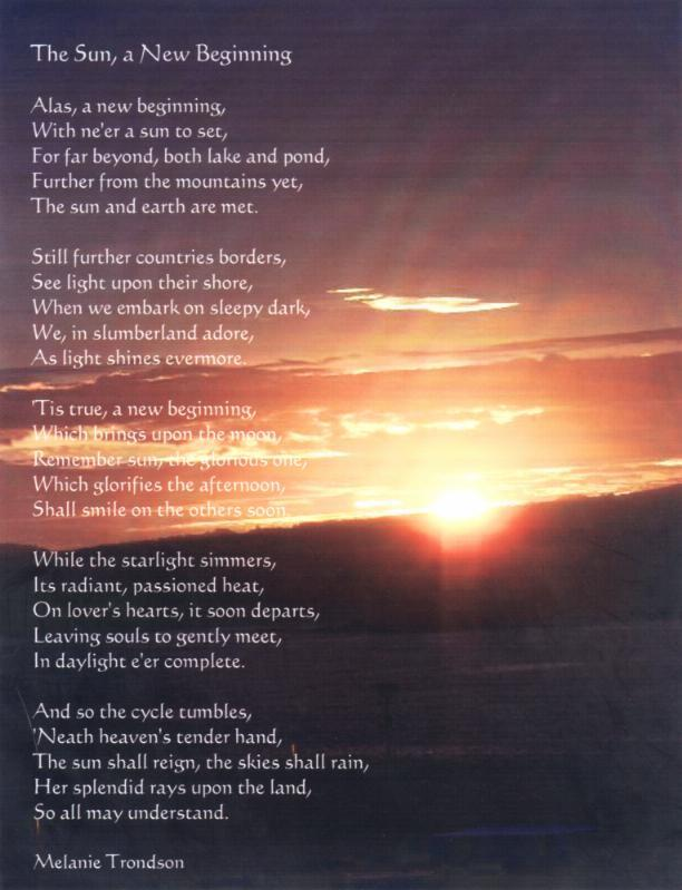 Mel's Poems